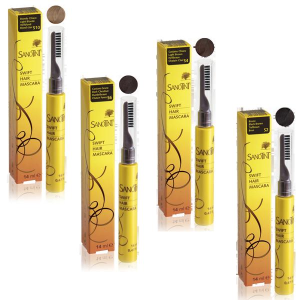 Swift hair mascara sanotint shop erboristeria semi for Cosval sanotint
